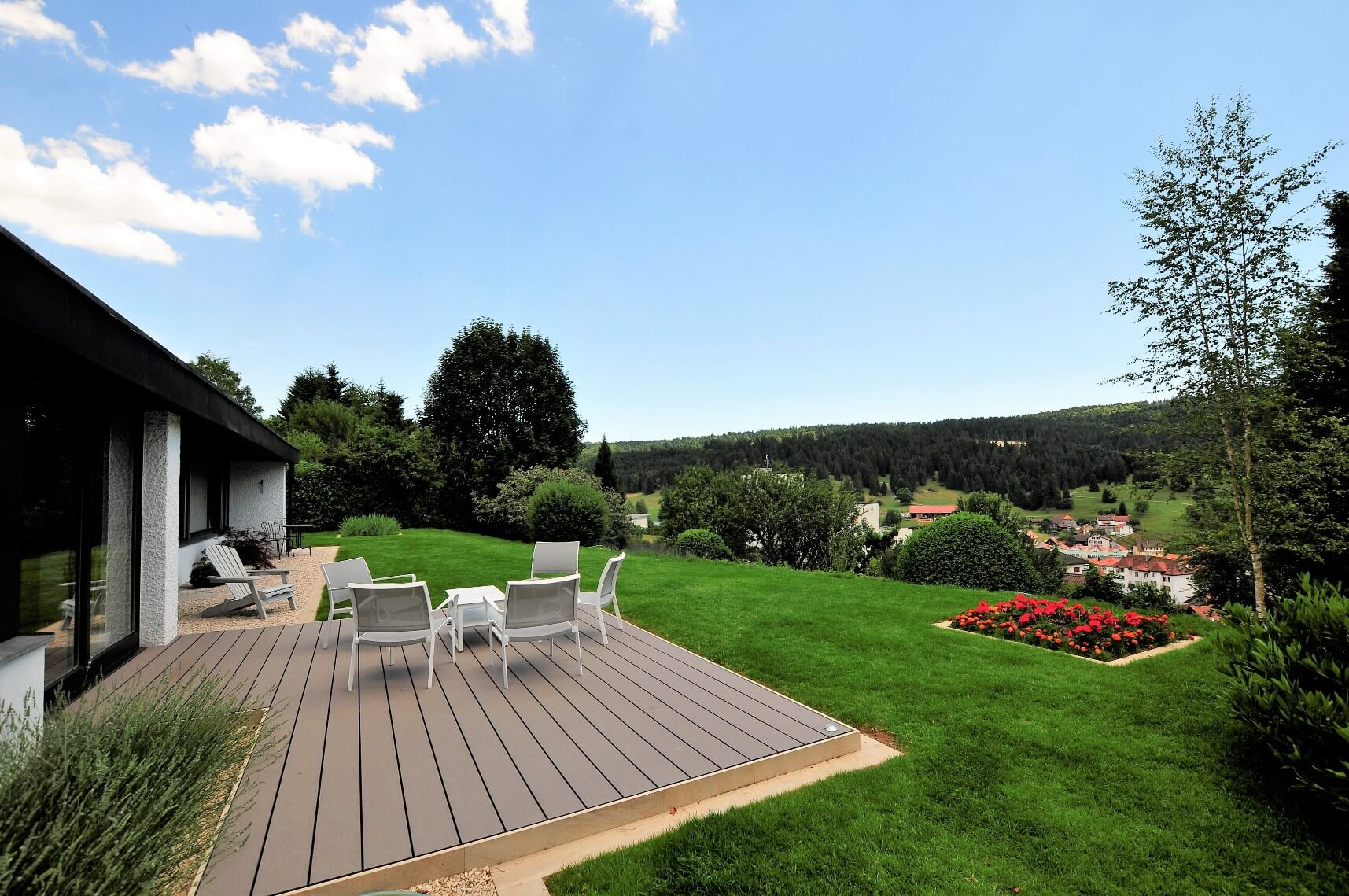 paysagiste tramelan villa terrasse jardin mur en pierres calcaires aellig paysages (4)
