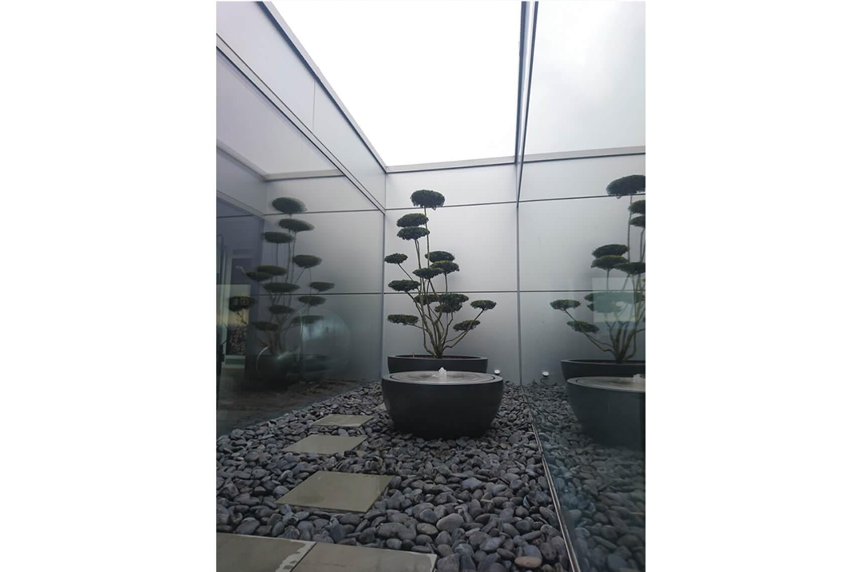 aellig paysages paysagiste jardin interieur pot arbre à étage fontaine la neuveville jardin japonais ultra modern (1)