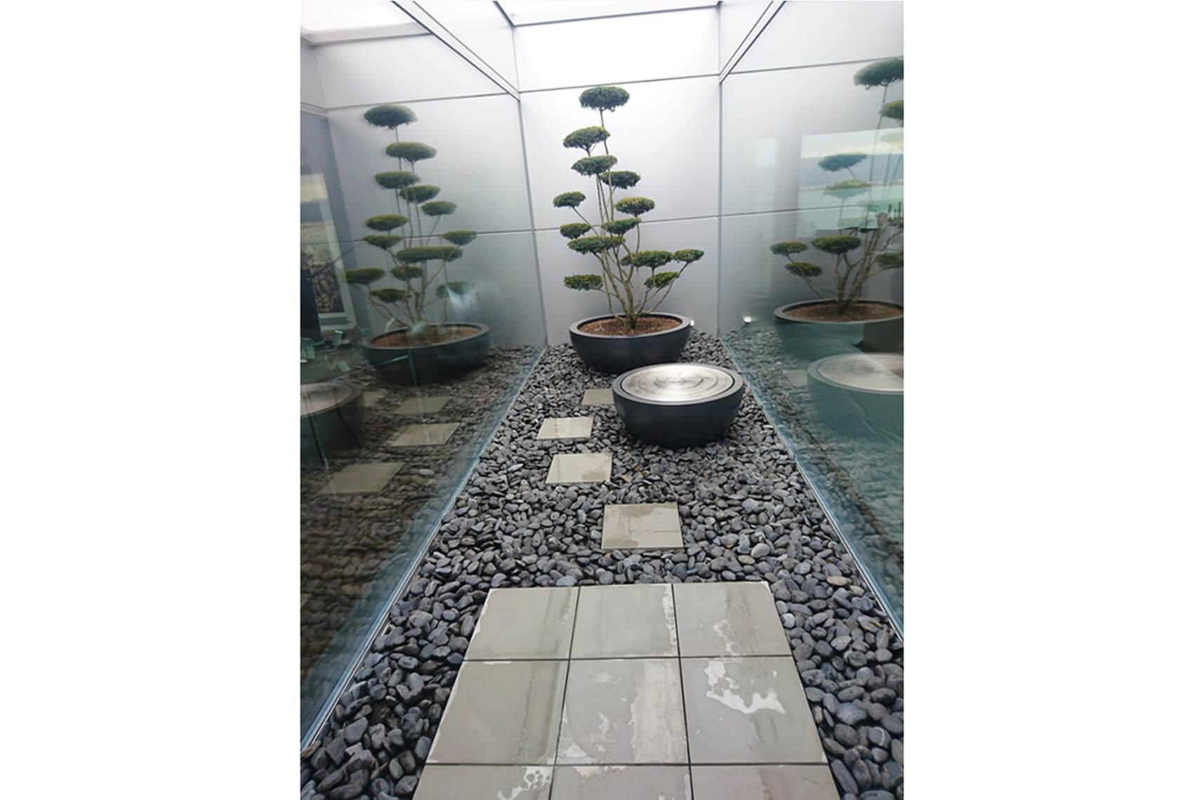 aellig paysages paysagiste jardin interieur pot arbre à étage fontaine la neuveville jardin japonais ultra modern (2)
