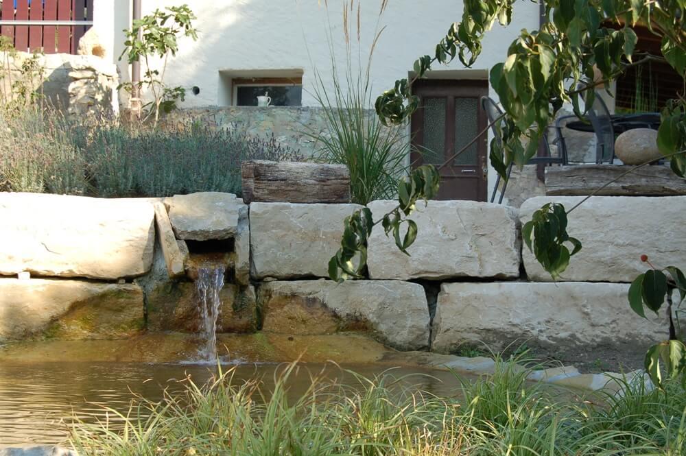 heilig paysages aellig chute eau bassin etang riviere jardin prive professionnel